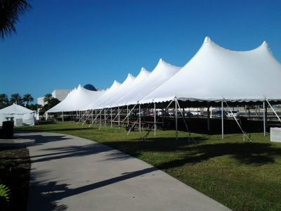 60 x 140, 80 x 140 High Peak Pole Tents